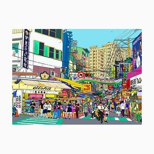 Feng Chia Nachtmarkt von Taichung, 2021