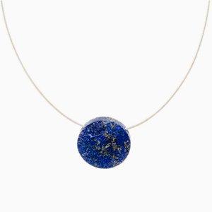 Geometrica Lapis Lazuli Large Round