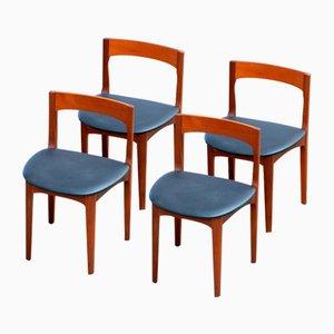 Skandinavische Vintage Sitze, 5er Set
