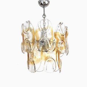 Vintage Murano Glass Chandelier from Mazzega