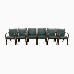 September 6 Chairs Gregoretti Vittorio Frau Chair for 1950, Set of 6