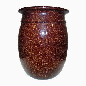 Vaso New Look in ceramica di Bronisław Wolanin per Bolesławiec, anni '60 o '70