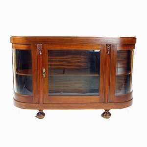 Art Deco Display Cabinet, Czechoslovakia, 1940s