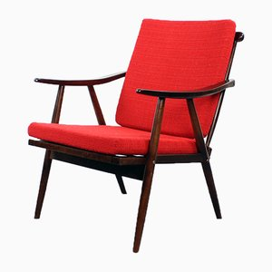 Boomerang Sessel von TON, Tschechoslowakei, 1960er