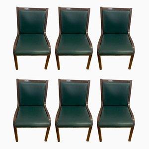 Chairs by Gregotti Associati for Poltrona Frau, 1950s, Set of 6