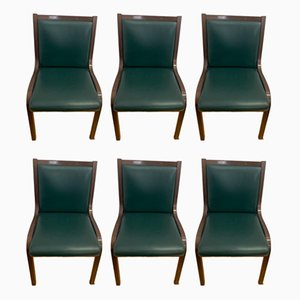 Stühle von Gregotti Associati für Poltrona Frau, 1950er, 6er Set