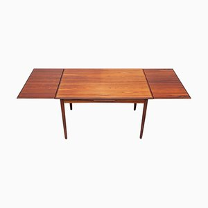Rosewood Extendable Dining Table, Denmark, 1960s