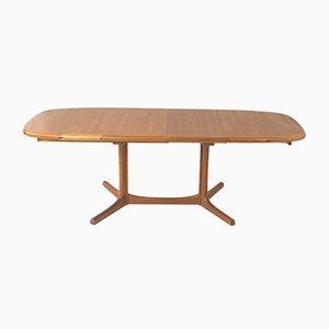 Extending Table in Teak from Dyrlund, Denmark, 1970
