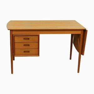 Drop Leaf Desk by Erik Buch for Oddense Maskinsnedkeri As, 1960s
