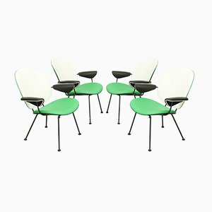 Chairs by W. H. Gispen for Kembo, Set of 4