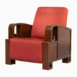 Art Deco Lounge Armchair