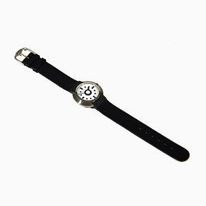 Orologio in acciaio di Ettore Sottsass per Tissot, 1988