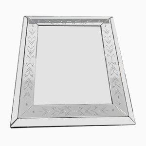 Mid-Century Venetian Style Mirror