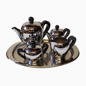 Servizio da tè di Alessi, anni '40, set di 5