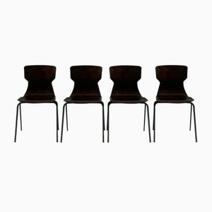 Rosewood Chairs from Eromes, Set of 4