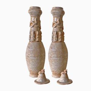 Vasi della dinastia Song, Cina, set di 2