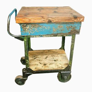 Antique Industrial Trolley