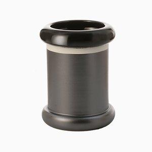 Zylinderförmige Vase von Ettore Sottsass für Bitossi