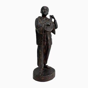 Sculpture du 20ème Siècle en Bronze par L. Lensa
