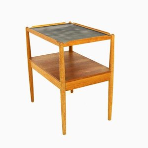Swedish Teak Arena Trolley by Sven Engström & Gunnar Myrstrand, 1960s