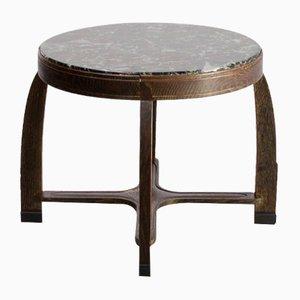 Tavolino da caffè Art Déco in marmo