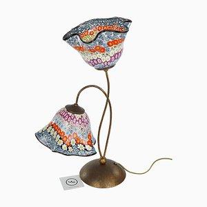 Lampada da tavolo Murrina in vetro di Murano di Made