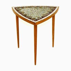 Swedish Tripod Side Table, 1950