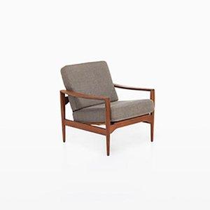 Sessel von Illum Wikkelsø für Niels Eilersen