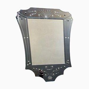 Vintage Art Deco Style Mirror