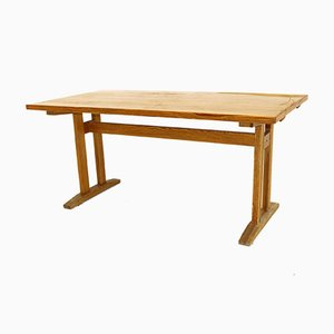 Swedish Pine Dining Table, 1960s