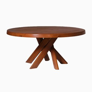 Extra Large 'T21E SfAX' Dining Table by Pierre Chapo