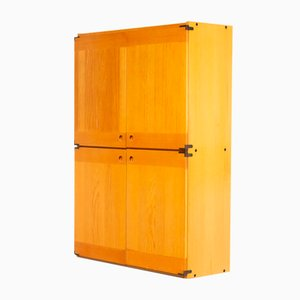 Wooden Cabinet for Ibisco, 1970s