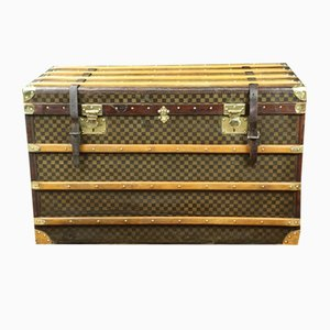 Leather Trunk from Damier