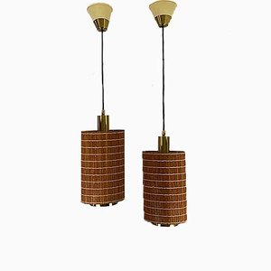 Spanish Hanging Lamps by Estiluz, 1970s, Set of 2