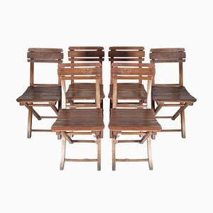 Garden Chairs, 1960s, Set of 6,