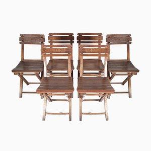 Gartenstühle, 1960er, 6er Set