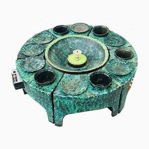 Tavolino da caffè Vallauris in ceramica