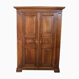 Antique Walnut Wardrobe, 1720s