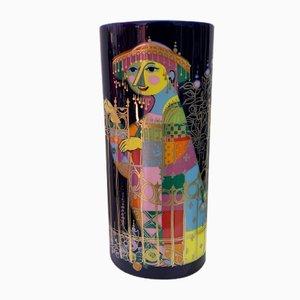 Vase by Bjørn Wiinblad for Rosenthal, 1972