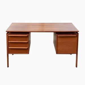 Danish Modern Teak Desk from G.V. Mobler