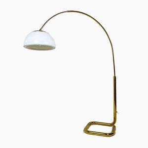 Vintage Messing Bogenlampe von Cosack, 1970er