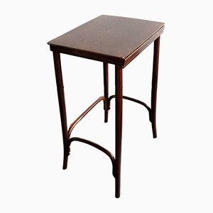 Art Nouveau Bentwood Side Table by Thonet, 1900s