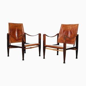 Safari Chair by Kaare Klint for Rud Rasmussen