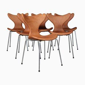 Chaise de Salon Seagull par Arne Jacobsen pour Fritz Hansen