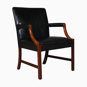 Brazilian Rosewood Lounge Chair by Ole Wanscher