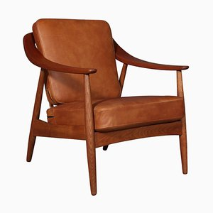 Lounge Chairs by Illum Wikkelsø, Set of 2