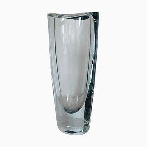 Swedish Crystal Vase from Orrefors, 1960s