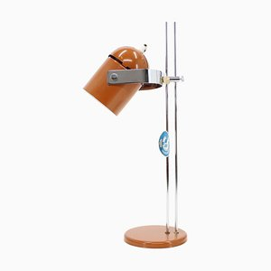 Adjustable Light Brown Table Lamp from Stanislav Indra, Czechoslovakia, 1970s