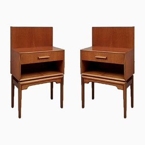 Mid-Century Bedside Tables from McIntosh, Set of 2