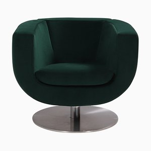 Grüner Tulip Armlehnstuhl von Jeffrey Bernett für B & B Italia